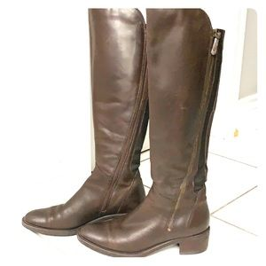 Clark's leather riding boots 👢